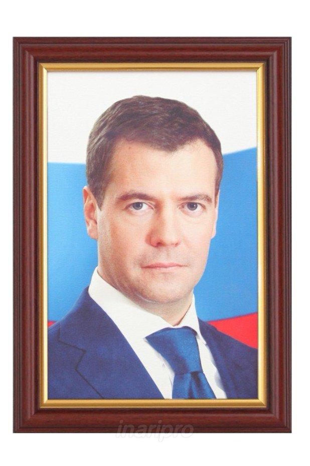фото портрет медведева в высоком разрешении время